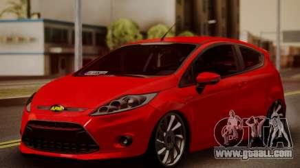 Ford Fiesta Turkey Drift Edition for GTA San Andreas