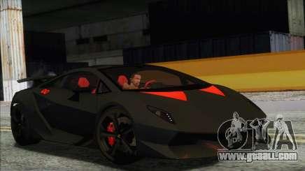 Lamborghini Sesto Elemento Concept 2010 for GTA San Andreas