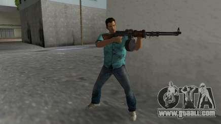 Degtyaryov's Manual Machinegun for GTA Vice City