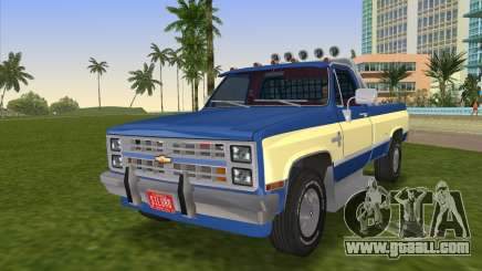Chevrolet Silverado K-10 2500 1986 for GTA Vice City