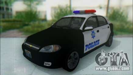 Chevrolet Lacetti Police for GTA San Andreas