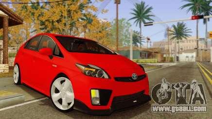Toyota Prius Tunable for GTA San Andreas