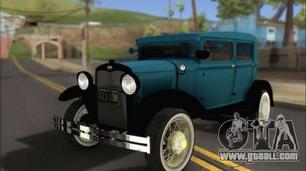 Ford A 1930 for GTA San Andreas
