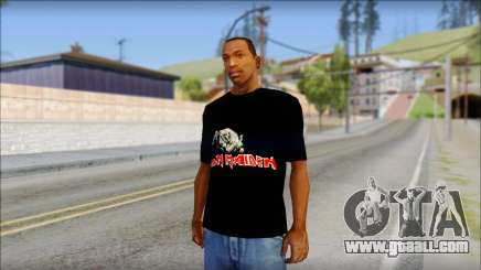 Iron Maiden T-Shirt for GTA San Andreas