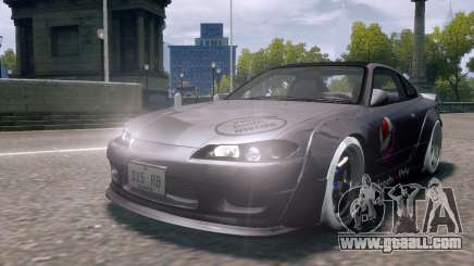 Nissan Silvia S15 Street Drift for GTA 4