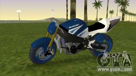 Suzuki GSX-R 1000 StreetFighter for GTA Vice City
