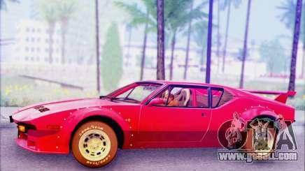 De Tomaso Pantera for GTA San Andreas