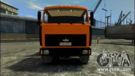 MAZ-6317 for GTA 4