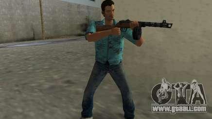 Submachine Gun Shpagina for GTA Vice City