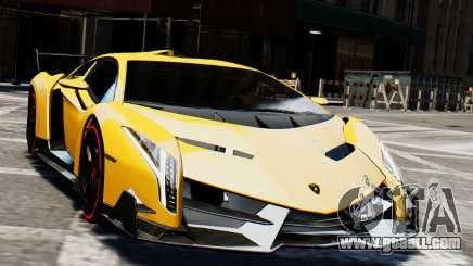 Lamborghini Veneno 2013 for GTA 4