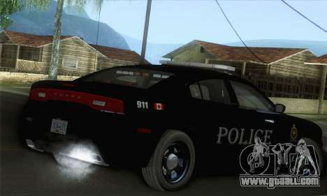 Dodge Charger ViPD 2012 for GTA San Andreas left view
