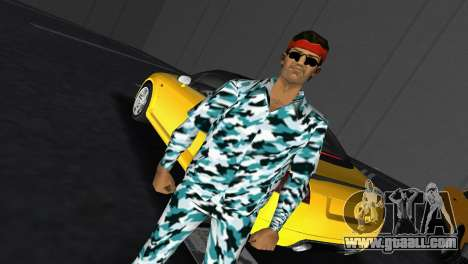 Camo Skin 10 for GTA Vice City third screenshot