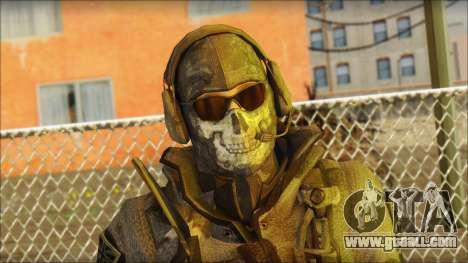 Latino Resurrection Skin from COD 5 for GTA San Andreas third screenshot