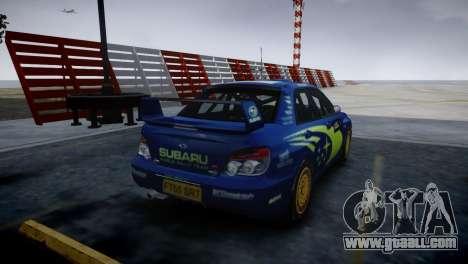 Subaru Impreza STI Group N Rally Edition for GTA 4 left view