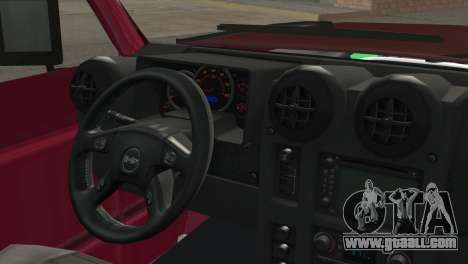 Nissan Patrol 2 Door for GTA San Andreas