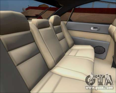 Mazda 323F 1995 for GTA San Andreas inner view