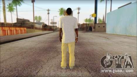 New Grove Street Family Skin v4 for GTA San Andreas second screenshot