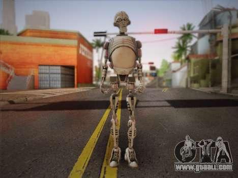 Kraang Robot for GTA San Andreas