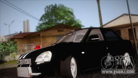 Lada 2170 Piora Turbo for GTA San Andreas