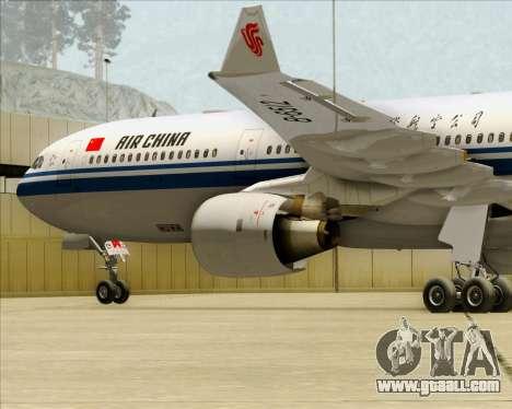 Airbus A330-300 Air China for GTA San Andreas engine
