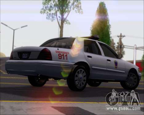 Ford Crown Victoria Tallmadge Battalion Chief 2 for GTA San Andreas