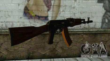 TheCrazyGamer AK74 for GTA San Andreas second screenshot