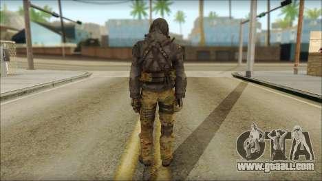 Latino Resurrection Skin from COD 5 for GTA San Andreas second screenshot