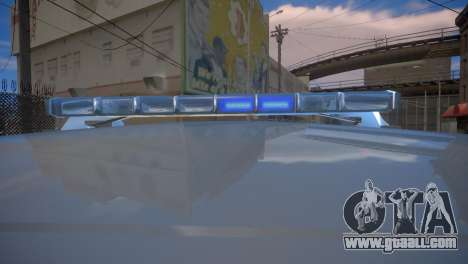 Mercedes-Benz GL450 AMG Police Interceptor 2013 for GTA 4 back view