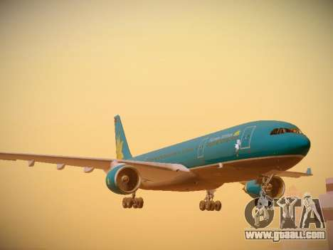 Airbus A330-200 Vietnam Airlines for GTA San Andreas left view