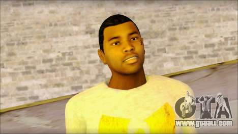New Grove Street Family Skin v4 for GTA San Andreas third screenshot