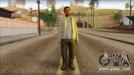 GTA 5 Ped 10 for GTA San Andreas