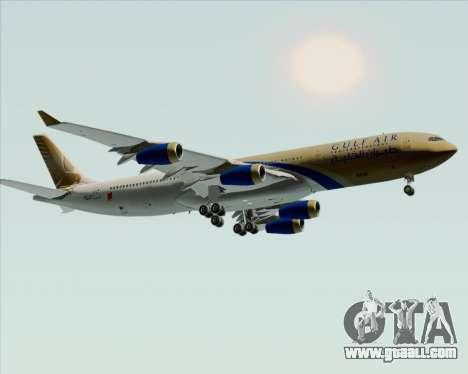 Airbus A340-313 Gulf Air for GTA San Andreas inner view