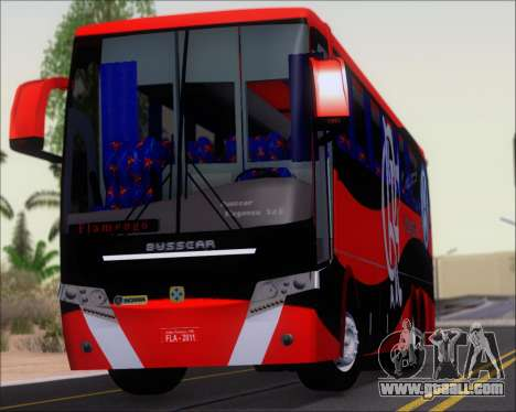 Busscar Elegance 360 C.R.F Flamengo for GTA San Andreas back view