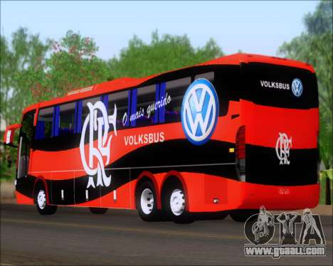 Busscar Elegance 360 C.R.F Flamengo for GTA San Andreas right view