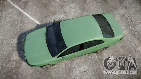 GTA V Vapid Taurus for GTA 4 right view