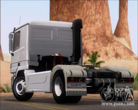 Mercedes-Benz Actros 3241 for GTA San Andreas back left view
