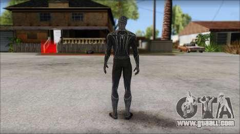 Standart Black Spider Man for GTA San Andreas second screenshot