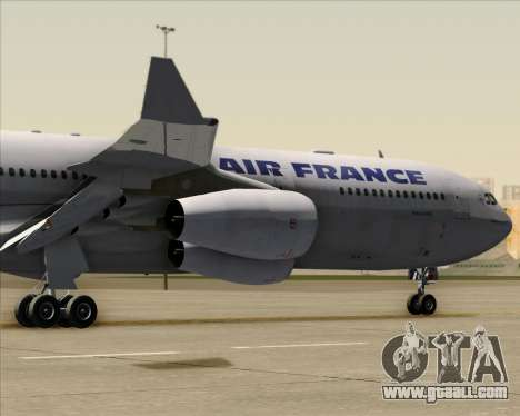 Airbus A340-313 Air France (Old Livery) for GTA San Andreas back view