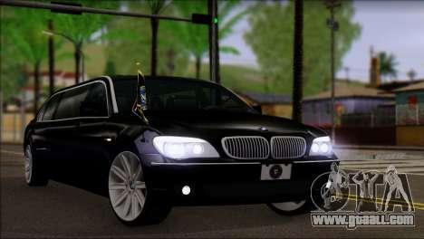 BMW E66 7-Series Limousine for GTA San Andreas