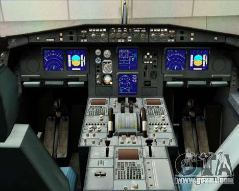 Airbus A340-313 Gulf Air for GTA San Andreas interior