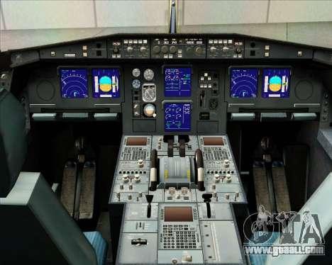 Airbus A340-313 Gulf Air for GTA San Andreas interior