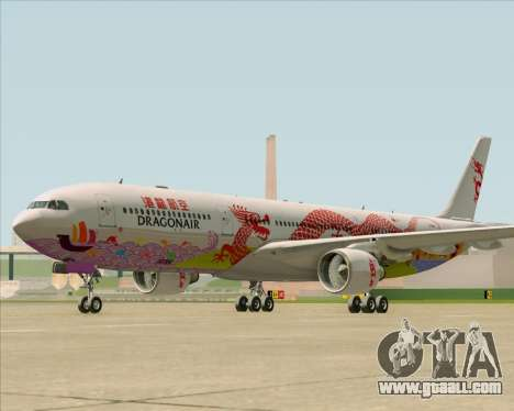 Airbus A330-300 Dragonair (20th Year Livery) for GTA San Andreas left view