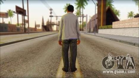 GTA 5 Ped 10 for GTA San Andreas second screenshot
