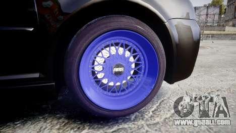 Volkswagen Golf Mk4 R32 Wheel1 for GTA 4 back view