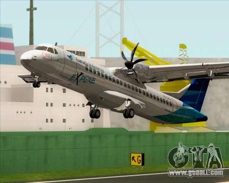 ATR 72-500 Garuda Indonesia Explore for GTA San Andreas interior