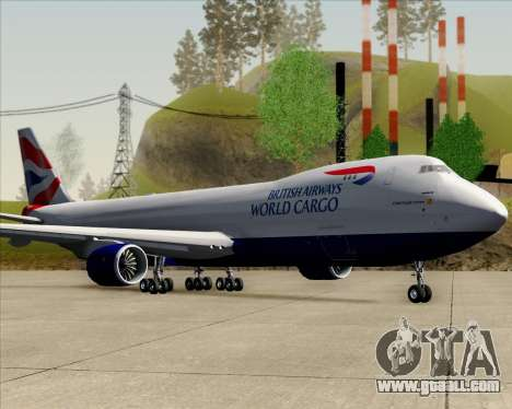 Boeing 747-8 Cargo British Airways World Cargo for GTA San Andreas