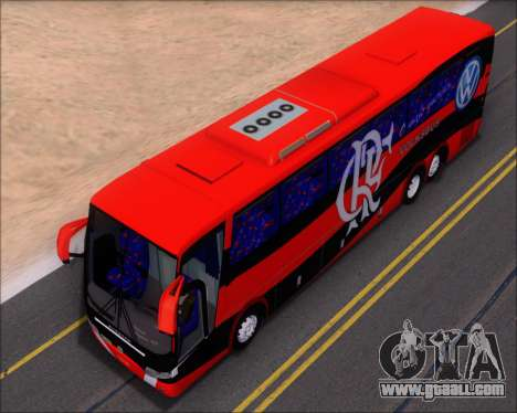 Busscar Elegance 360 C.R.F Flamengo for GTA San Andreas bottom view