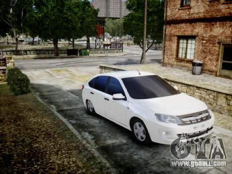 Lada Granta Liftback for GTA 4 left view