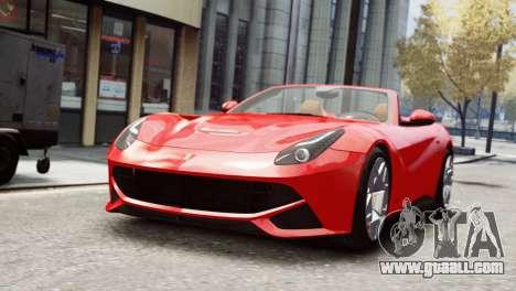 Ferrari F12 Roadster for GTA 4