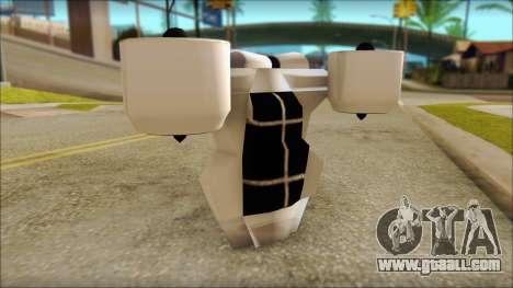 Modern Jetpack for GTA San Andreas forth screenshot